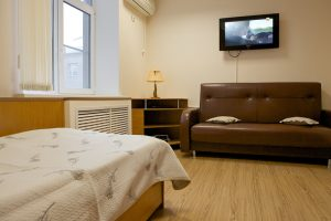 Комната для отдыха и просмотра телевизора