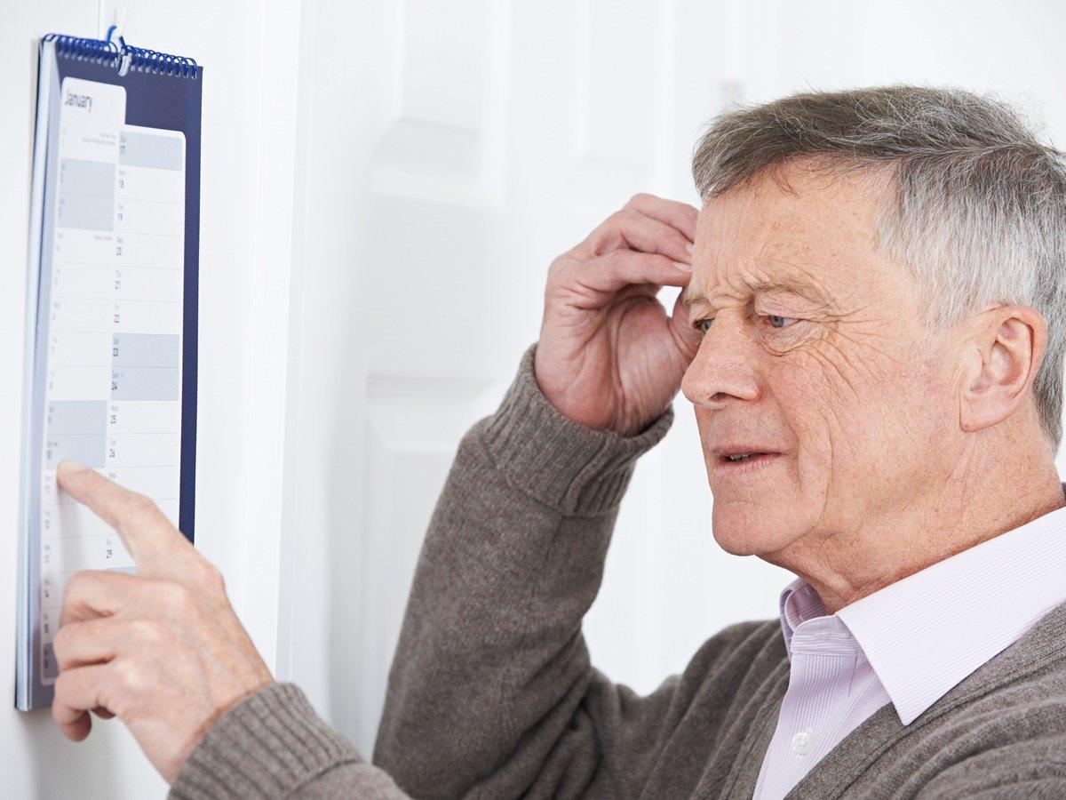 у дедушки деменция