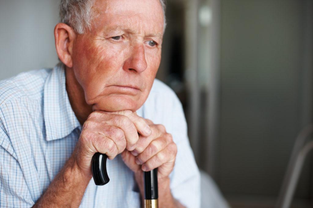 депрессия у пожилого человека