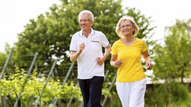 утренняя пробежка в доме престарелых