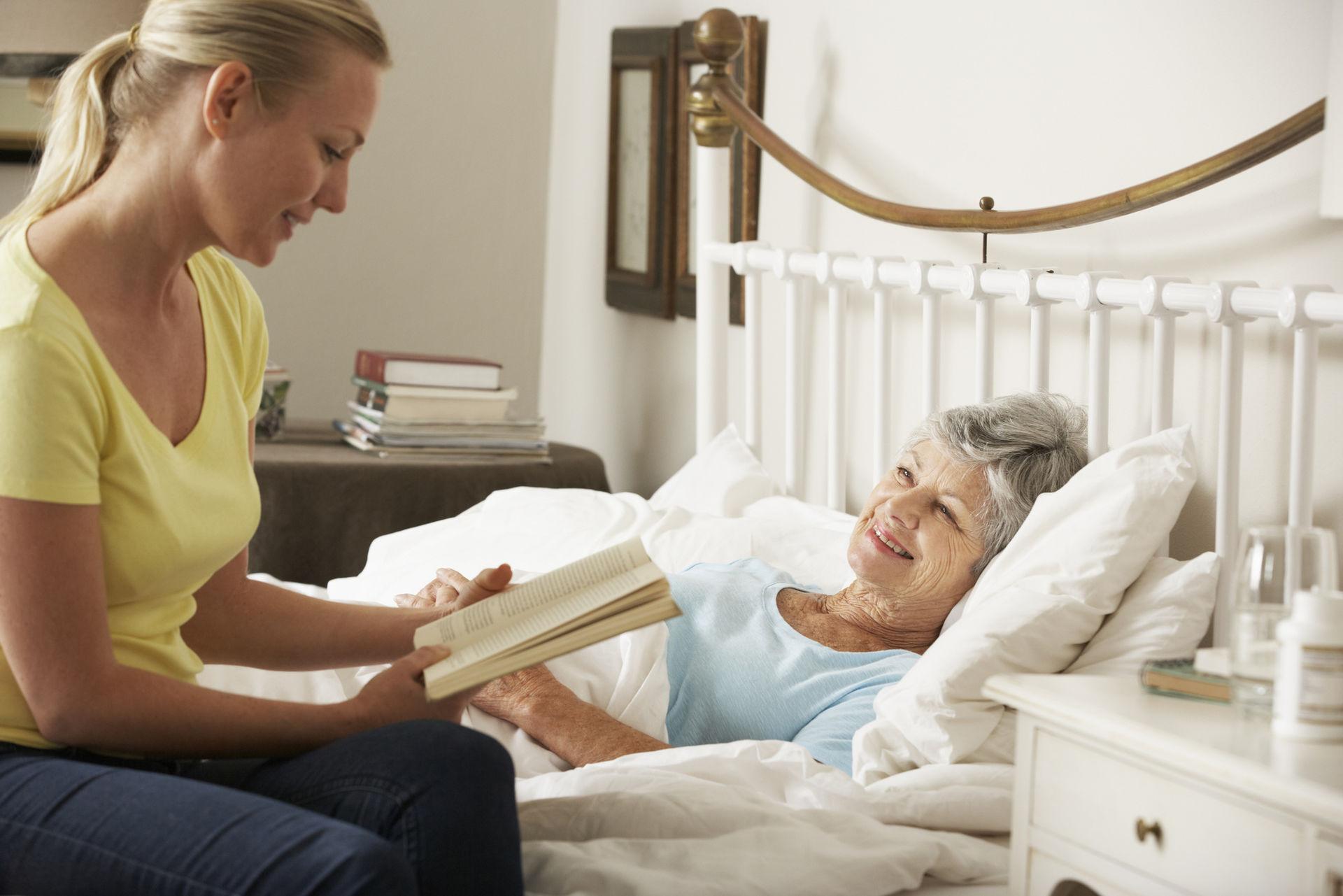 опытная сиделка для лежачего больного
