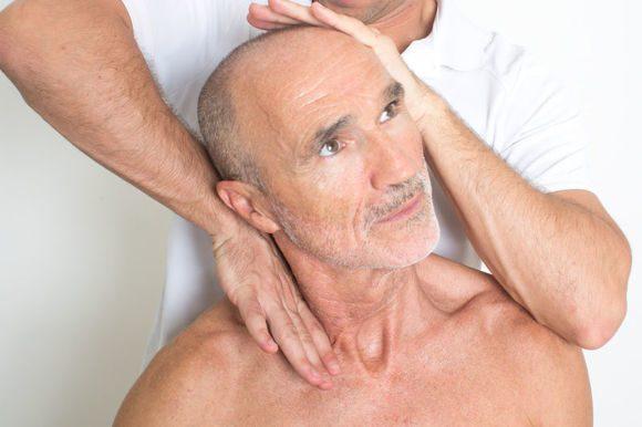 массаж шейного отдела