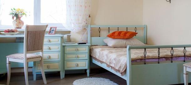 уютная комната санатория для пожилых