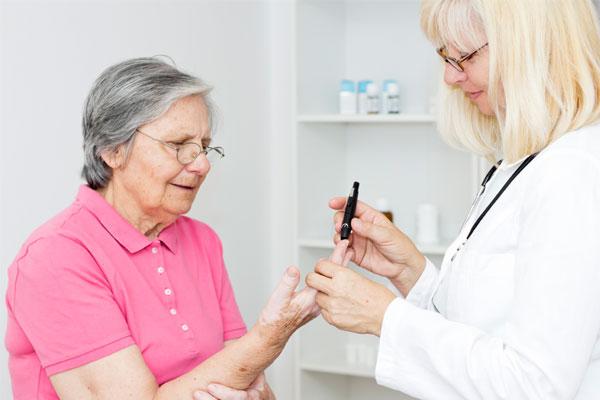 забота о диабетике в пансионате