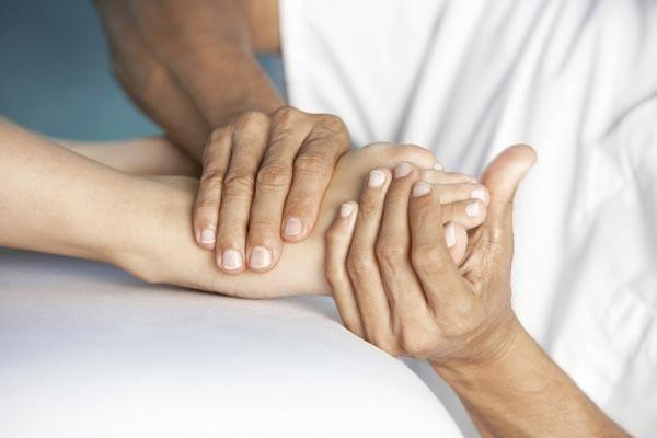 массаж ног при склерозе