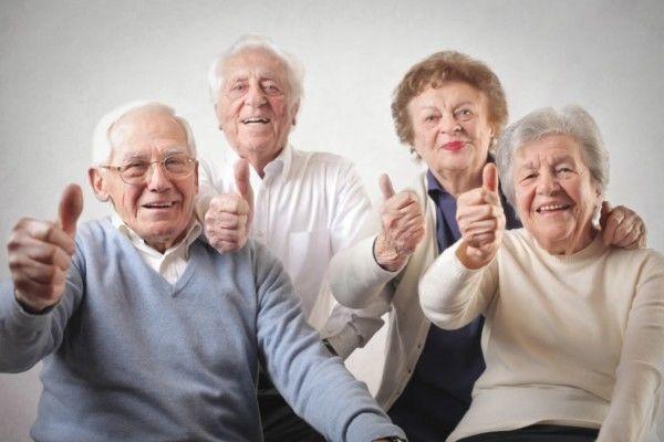 счастливая жизнь пенсионеров