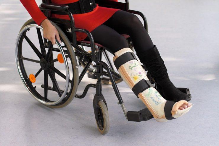 травма ноги при дтп