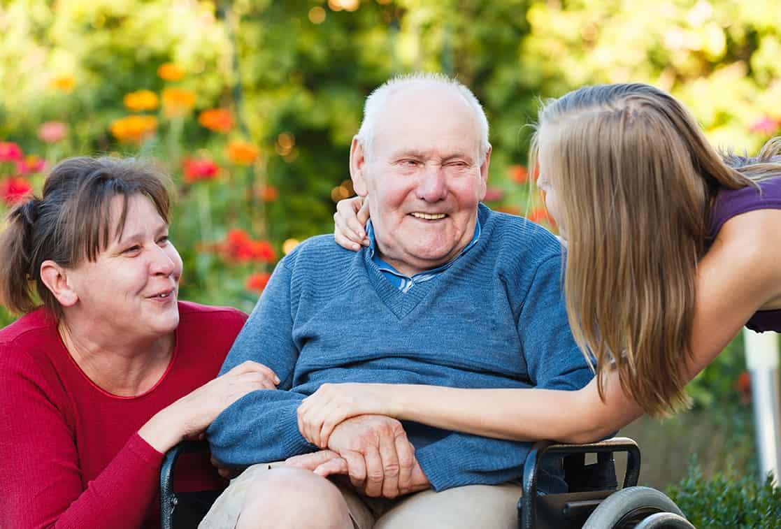 отдых пенсионера в пансионате для пожилых