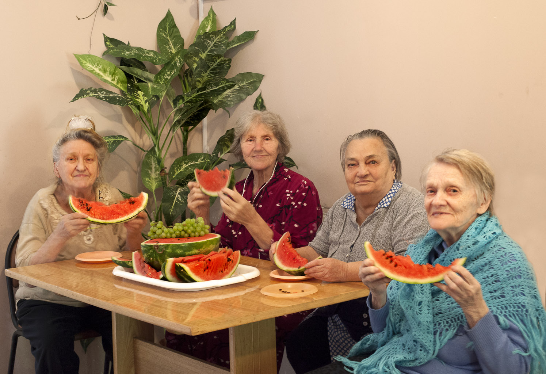 пожилые в Вольнянске