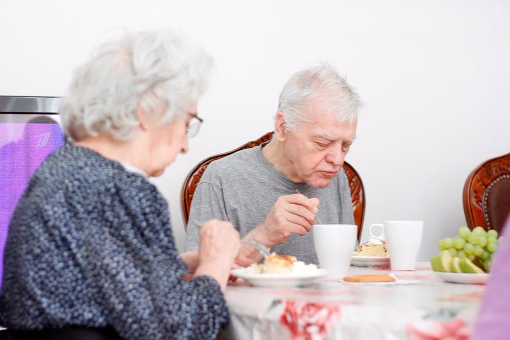 престарелые люди