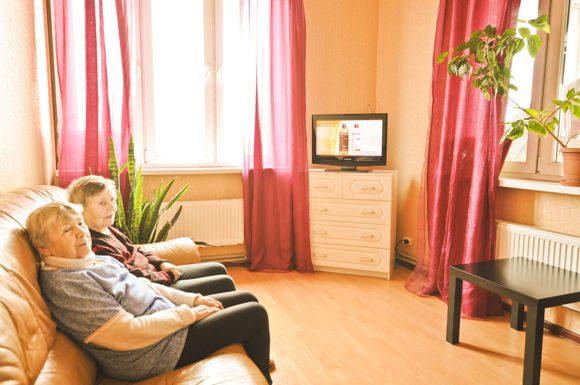 уютный дом престарелых в Васильевке